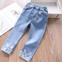 trousers Other / other female 100cm,110cm,120cm,130cm,140cm,150cm Light cherry, light cat spring and autumn trousers 18 months, 2 years old, 3 years old, 4 years old, 5 years old, 6 years old, 7 years old, 8 years old