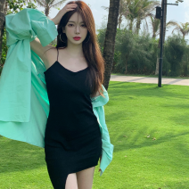 Fashion suit Summer 2021 Average size Black dress, grey dress, green shirt, blue shirt 18-25 years old three point two nine 51% (inclusive) - 70% (inclusive)