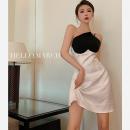 Dress Summer 2021 white S, M Short skirt singleton  Sleeveless commute High waist other A-line skirt camisole 18-24 years old Type A Korean version three point three zero