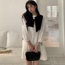 Fashion suit Summer 2021 Average size Black vest, dress 18-25 years old four point one zero