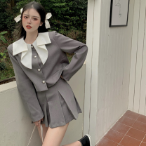 Fashion suit Summer 2021 S. M, average size Half skirt, top 18-25 years old Four point one 51% (inclusive) - 70% (inclusive)