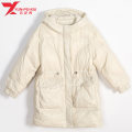 Women's large Winter 2020 Black Beige Jacket / jacket singleton  commute easy moderate Cardigan Long sleeves Korean version Hood routine polyester Three dimensional cutting routine Yunfeixiu 30-34 years old 96% and above Polyester 100%