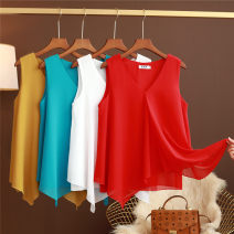 Vest sling Summer 2021 M,L,XL,2XL,3XL,4XL,5XL singleton  routine easy commute other Solid color 25-29 years old 91% (inclusive) - 95% (inclusive) Chiffon