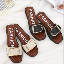 slipper It's suggested to take a big one and add Mini helisha 36 37 38 39 40 Other / other Black Beige Flat bottom Flat heel (1cm or less) plastic cement Spring 2016 One line EVA foam daily princess Youth (18-40 years old) middle age (40-60 years old) stripe 001 PU PU Zero point one
