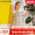 Dress yellow female E·LAND KIDS 110cm 120cm 130cm 140cm 150cm 160cm 165cm Other 100% summer lady lattice EKOWA3721Q 5 years old, 6 years old, 7 years old, 8 years old, 9 years old, 10 years old, 11 years old, 12 years old, 13 years old, 14 years old