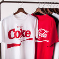 T-shirt Coca Cola wave black Coca Cola wave red coke white SMLXL2XL Spring of 2018 Short sleeve Crew neck easy Regular routine Yu Dao TX180330 Cotton 100% Pure e-commerce (online only)