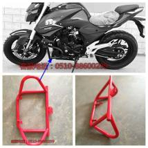 Motorcycle bumper Longsong 150-350 other steel customized Front bumper Horizon three generation motorcycle