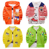 Plain coat Other / other neutral 73cm 80cm 90cm 95cm spring and autumn leisure time Single breasted No model Thin money No detachable cap Cartoon animation cotton Crew neck Cotton 95% other 5%