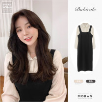 Fashion suit Spring 2021 S,M,L,XL Black, apricot 18-25 years old Other / other cotton