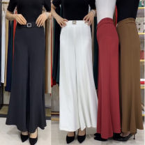 Casual pants Spring 2021 trousers Wide leg pants High waist routine