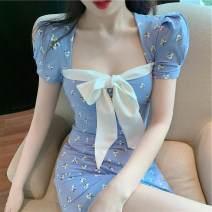 Dress Summer 2021 blue S, M