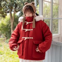 Cotton padded clothes Winter 2020 have cash less than that is registered in the accounts Long sleeves thickening Ox horn buckle commute stand collar routine Straight cylinder Korean version 31% (inclusive) - 50% (inclusive) 18-24 years old