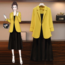 Women's large Spring 2021 Other oversize styles Two piece set commute easy moderate Cardigan Long sleeves Korean version routine Three dimensional cutting Yoewshean 25-29 years old Medium length Other 100% Pure e-commerce (online only)