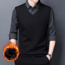 T-shirt / sweater Naizhi other Black [warm and comfortable], gray [handsome, elegant and comfortable] thickening Socket Crew neck Long sleeves miT2ZkCe