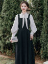 Fashion suit Spring 2021 S,M,L,XL Shirt + suspender skirt 18-25 years old