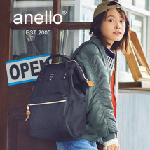 Backpack Anello (backpack) Large and small For men and women AT-B0197 4500 yen travel yes oxford other no other made in china soft roll 39*17*27cm/32*13.5*22cm Anello Backpack
