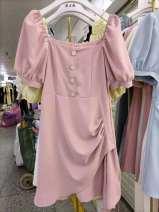 Dress Summer 2021 M,L,XL White, black, yellow, pink