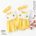 Dress Yellow pineapple dress, yellow pineapple skirt female Other / other 66cm,73cm,80cm,90cm,100cm,110cm Other 100% summer leisure time other YJ02044 Class A 3 months, 6 months, 12 months, 18 months, 9 months Chinese Mainland Zhejiang Province Huzhou City
