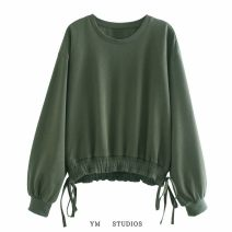 Sweater / sweater Autumn 2020 Picture color [9986] XS,S,M,L routine Socket singleton  routine easy street Solid color Europe and America