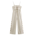 Casual pants Picture color [9128] S,M,L Summer of 2019 trousers Jumpsuit street routine sd1907601021 Europe and America