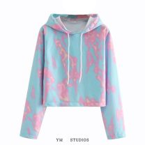 Sweater / sweater Autumn 2020 XS,S,M,L Long sleeves have cash less than that is registered in the accounts Socket singleton  routine Hood easy street Europe and America