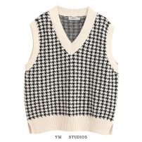 Wool knitwear Spring 2020 S,M,L Picture color [2046] Sleeveless singleton  Socket cotton 51% (inclusive) - 70% (inclusive) Regular routine street easy V-neck Socket Europe and America