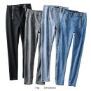 Jeans Spring 2020 Gray [8087], black [8087], washed blue [8087], light blue [8087] XS,S,M,L trousers High waist Pencil pants routine ml2001551820