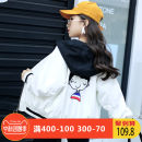 Plain coat Mishibe female 130 recommended height 120-130cm 140 recommended height 130-140cm 150 recommended height 140-150cm 160 recommended height 150-155cm 170 recommended height 155-160cm 175 recommended height 160-165cm White pre-sale 7 days delivery early order early delivery spring and autumn