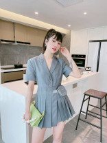Dress Summer 2021 grey 36,38,40,0 yuan to join! Enjoy 95% discount and exchange rights! , official authorized stores, drop down to have more beautiful pictures!