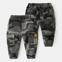 trousers Shell element male 100cm,110cm,120cm,130cm,140cm,150cm Camouflage spring and autumn trousers Europe and America No model Casual pants Leather belt Don't open the crotch kzc871 Class B 2, 3, 4, 5, 6, 7, 8, 9, 10, 11, 12, 13, 14 years old