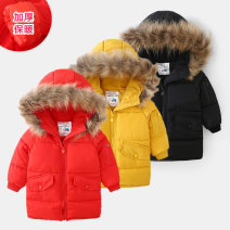 Cotton padded jacket male No detachable cap other Shell element Black, red, yellow 90cm,100cm,110cm,120cm,130cm,140cm,150cm routine Zipper shirt Europe and America No model Solid color Class C Crew neck wt9078 2, 3, 4, 5, 6, 7, 8, 9, 10, 11, 12, 13, 14 years old