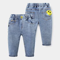 trousers Shell element male 90cm,100cm,110cm,120cm,130cm,140cm Denim blue spring and autumn trousers Europe and America No model Jeans Leather belt Don't open the crotch Other 100% kzd259 Class B 2, 3, 4, 5, 6, 7, 8, 9, 10, 11, 12, 13, 14 years old