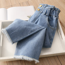 trousers Shell element female 90cm,100cm,110cm,120cm,130cm,140cm blue spring and autumn trousers leisure time No model Casual pants Leather belt middle-waisted other Don't open the crotch Other 100% Class B 14, 13, 12, 11, 10, 9, 8, 7, 6, 5, 4, 3, 2 years old