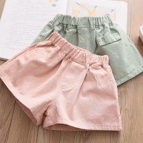 trousers Shell element female 90cm,100cm,110cm,120cm,130cm,140cm,150cm summer shorts fresh No model Casual pants Leather belt middle-waisted other Don't open the crotch Other 100% Class B 2, 3, 4, 5, 6, 7, 8, 9, 10, 11, 12, 13, 14 years old