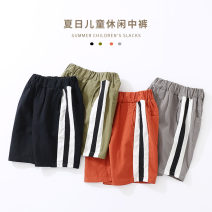 trousers Shell element male 100cm,110cm,120cm,130cm,140cm,150cm Black, gray, orange, army green summer Pant Europe and America No model Casual pants Leather belt middle-waisted other Don't open the crotch Other 100% kzc192 Class B 14, 13, 12, 11, 10, 9, 8, 7, 6, 5, 4, 3, 2 years old