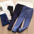 trousers Shell element female spring and autumn trousers No model Jeans Leather belt Other 100% Class B