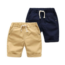 trousers Shell element male 90cm,100cm,110cm,120cm,130cm,140cm Khaki, Navy summer Pant Europe and America No model Casual pants Tether middle-waisted Don't open the crotch Class B 2, 3, 4, 5, 6, 7, 8, 9, 10, 11, 12, 13, 14 years old