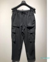 trousers male Other / other black routine Woven