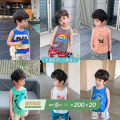 Vest male White, spot, green, spot, blue, spot, stripe, spot, gray, spot, orange, spot, stripe, pre-sale 80, 90, 100, 110, 120, 130, 140 ivan summer Thin money There are models in the real shooting Socket leisure time other Cartoon animation Other 100% Chinese Mainland