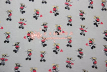 Fabric / fabric / handmade DIY fabric cotton The buy it now price is half a meter Loose shear Cartoon animation printing and dyeing 100%