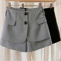 Casual pants White, black S,M,L,XL Summer 2021 shorts Wide leg pants High waist commute routine 81% (inclusive) - 90% (inclusive) Other / other other Korean version pocket