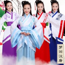 National costume / stage costume Fall 2017 Honey attachment 18-25 years old Polyester 70% Cotton 30% nylon Pure e-commerce (online only)