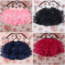 skirt 100cm, 110cm, 120cm, 130cm, 140cm, 150cm, 160cm, the size is small, it is recommended to choose a larger size Black, rose, pink, Navy, pure white Other / other female Other 100% spring and autumn skirt leisure time Solid color Cake skirt Cotton polyester