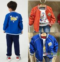 Jacket / leather Other / other male Blue, red, with T-Shirt Blue, with T-shirt red 105cm,110cm,120cm,130cm,140cm,150cm other spring and autumn nothing G1574299