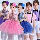 Children's performance clothes female 100cm 110cm 120cm 130cm 140cm 150cm 160cm 170cm Class B Other 100% Spring 2021 princess