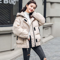 Cotton padded clothes Off white S M L XL Spring 2020 Fragrance of orchid Medium length Long sleeves 18-24 years old Pure e-commerce (online only) Polyester 100%