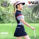 Golf apparel male Franklin 5r8jhP Winter 2015 S M L XL XS Love print short sleeve Navy pleated skirt