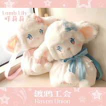 Bag The single shoulder bag cotton Kitten bag 001 (Consumer Electronics) brand new Cartoon in leisure time soft Strip extraction yes Animal design Double root Two shoulders and one shoulder nothing juvenile Animal form bow Soft handle polyester fiber Three dimensional bag