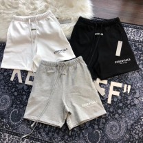 Casual pants Others Youth fashion White, gray, black S,M,L,XL Shorts (up to knee) Other leisure Straight cylinder