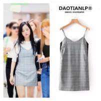 Dress Autumn of 2018 grey S,M,L